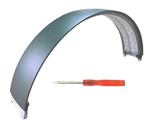 SINDERY Replacement Top Headband Repair Parts for Beats Studio 2.0 Wired/Wireless Over Ear Headphone (Headband- Metallic ()