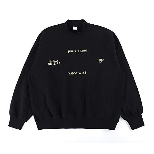 NAGRI Kanye Jesus is King Ablum Crewneck Sweatshirt