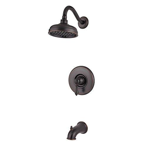 Pfister  G89-8MBY  Marielle Saxton 1-Handle Tub & Shower Trim 2.0 gpm Tuscan - Marielle Bronze Set