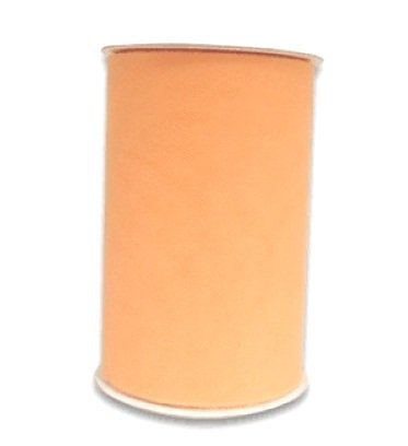 Wedding Tulle Roll PEACH Great Price 6in x 300ft (100 yards ()