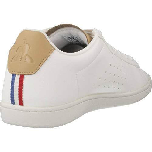 Sportif croissant Sport Baskets White Le croissant Coq Courtset White Homme Optical pnTRxPqf5w