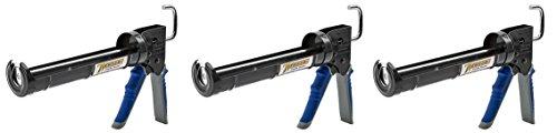 - Newborn Pro Super Ratchet Rod Caulk Gun with Gator Trigger Comfort Grip, 1/10 Gallon Cartridge, 6:1 Thrust Ratio (3-(Pack))