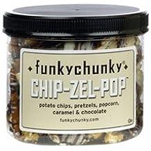 Funky Chunky Chip-Zel-Pop Popcorn, 8oz MINI Canister