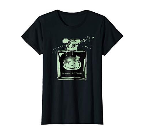 Pastel Goth T Shirt - Cat and Pumpkin