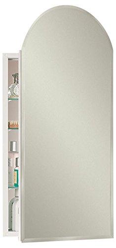 Jensen 52WH244PAX Bevel Mirror Medicine Cabinet, 15