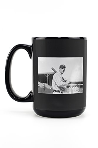 Mug Toronto Leafs Maple Travel (Tim Jordan, Toronto Maple Leafs, Baseball Photo (15oz Black Ceramic Mug - Dishwasher and Microwave Safe))