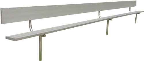 Permanent Bench w Back (15 ft.) ()