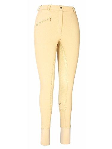 - TuffRider Women's Ribb Full Seat Breeches (Regular), Light Tan, 24