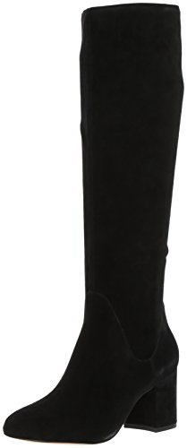 ALDO Women's Lilinia Knee High Boot, Black Suede, 7.5 B US by ALDO