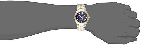 Casio Men's EF106SG-2AV Edifice Two-Tone Stainless Steel Watch WeeklyReviewer