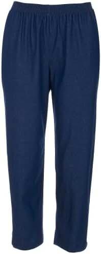 Alfred Dunner Women's Petite Short Denim Jean Pant