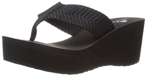 Pictures of Nomad Women's Tide Wedge Sandal Black 6 M US 1