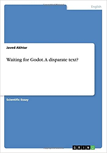 Essay In English Literature Amazoncom Waiting For Godot A Disparate Text  Javed  Akhtar Books Sample Of An Essay Paper also English Essays For Kids Amazoncom Waiting For Godot A Disparate Text   Paper Essay