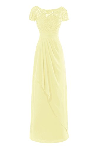 Dora Bridal Women Acute S Lace Mother Of The Bride Dresses Floor Length Daffodil