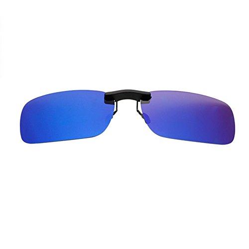 UV400 Anti para Rectangular Sunglasses de Turismo Sol Conducir Polarizadas Vintage Hombre Eyewear Mujer Sin Gafas Marco Portección Reflejante Xinvision 8PqOBB