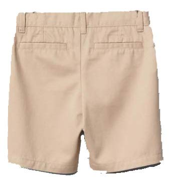 GAP Kids Girls Khaki Flat Front Shorts 6 Slim