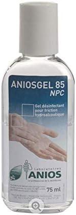 Gel Desinfectant Hydroalcoolique Aniosgel 85 Npc 10 X 75ml