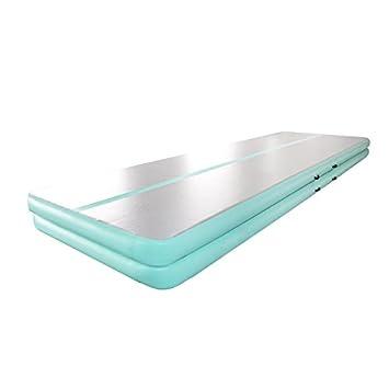 Amazon.com : Gymnastic Air Floor Mat Air Tumbling Track Mat ...