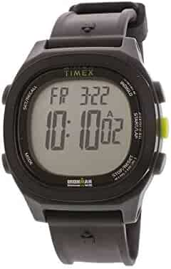 35fa47999 Timex Men's Ironman Transit TW5M18900 Black Plastic Japanese Quartz Sport  Watch