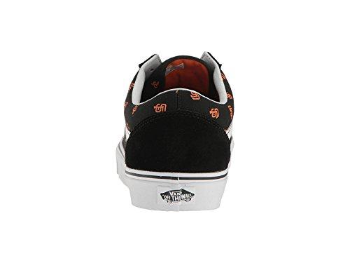 Bestelwagens Unisex Old Skool Klassieke Skate Schoenen San Francisco / Reuzen / Zwart