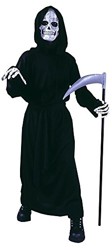 [Kids-Costume Grave Reaper Child Halloween Costume - Child up to 12] (Grave Reaper Costumes)