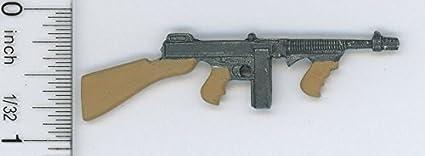 Casa De Muñecas Miniaturas Dos pistolas de juguete miniatura Accesorio de escala 1.12.