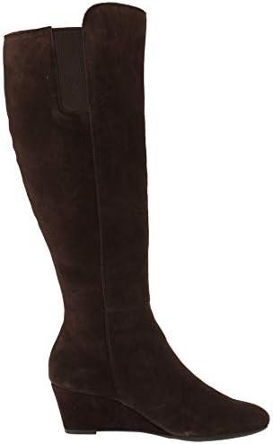 Anne Klein Women\'s Alanna Wedge Boot Knee High