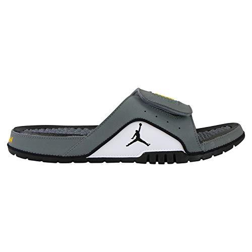 Nike Jordan Hydro Iv Retro Mens Sneakers 532225-007, Cool Grey/Varsity Maize-Black-White, Size US 8