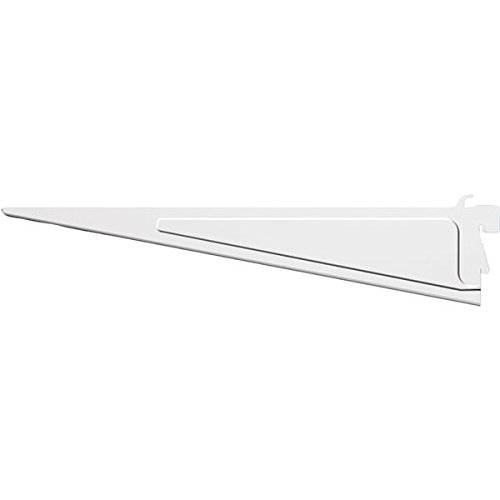 ShelfTrack White Shelf Bracket