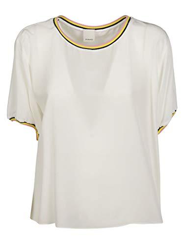 Soie Femme Pinko shirt T Blanc 1g14067312z09 qCpgHf