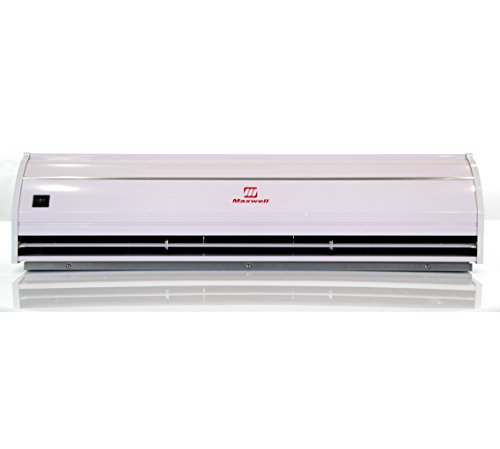 48'' Maxwell Commercial Designed Air Curtain with Heavy Duty Door Switch - 115V by Maxwell