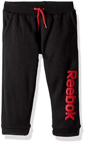 Reebok Boys' Toddler' Spun Poly Fleece Latitude Jog Pant, True red, 3T (Jog Pants Fleece)