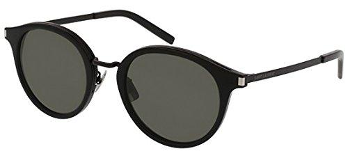 Yves Saint Laurent SL57 010 49mm Black Grey Eyeglasses