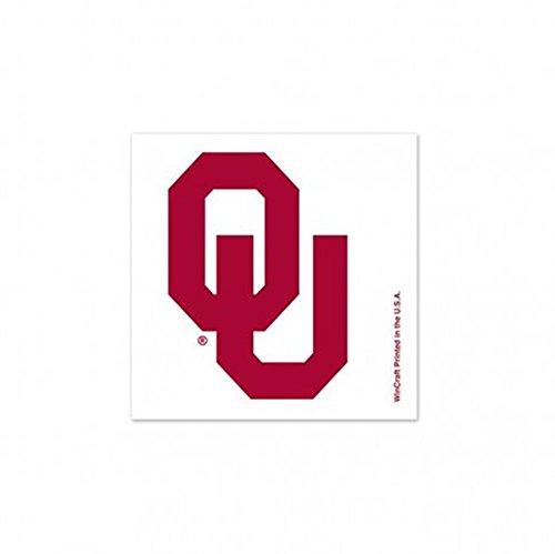 NCAA Oklahoma Sooners 4-Pack Temporary Tattoos
