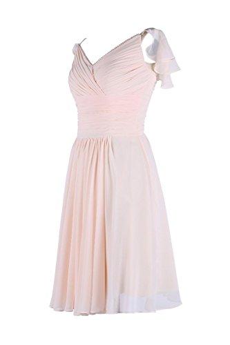 YiYaDawn - Vestido - trapecio - para mujer Koralle