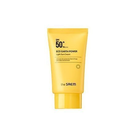 [The Saem] Eco Earth Power Light Sun Cream SPF50+ PA+++ 50g from THESAEM
