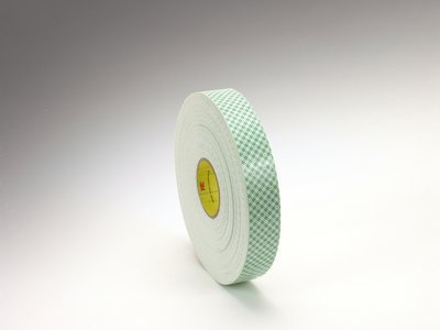 3M 021200-03371-RL Scotch 4016 Double Coated Urethane Foam Tape: 1/16