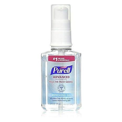 Amazon Com Purell Advanced Hand Sanitizer Refreshing Gel 2 Oz