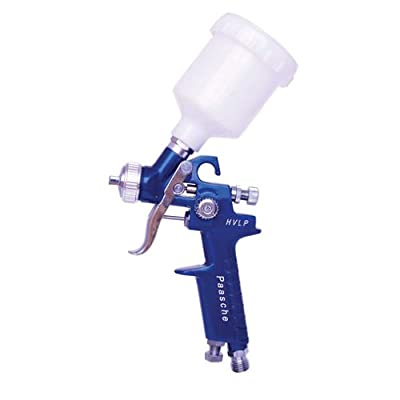 Paasche Airbrush HG-08 HVLP Gravity Feed Touch-Up Spray Gun