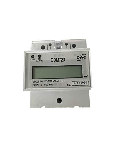 DAE DDM720 240V kWh Meter, 100 Amp, Internal CT, 60 Hz, Hot Wire Pass Through