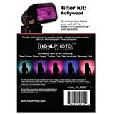 Honl Photo Hollywood Color Correction Gel Filter Kit for Photo Speed System
