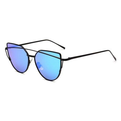 De 2 Reflejado De Sol Sunglases Ojo Gafas Hembra Gafas 13 Retro De KLXEB Gato Sobremedida Mujer gq5FKfw
