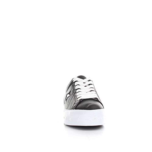 Black Converse Star Ox White Sneakers Lifestyle White Basses Platform 001 Noir Femme One q4Tzqa