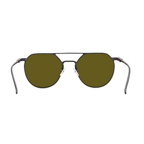 WLHW Magnésium TAC Polarisées Gun UV Loisirs Hommes Femmes Protection Ombre Noir Aviation frame Femmes Décoratif de lunettes Aluminium soleil