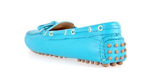 Car Shoe KDD006donna pelle mocassini