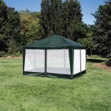 Deluxe 10'x12′ Screen House, Party Tent in Green, Outdoor Stuffs