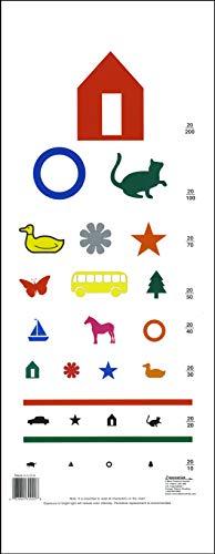 - Eye Chart - Pediatric Color Eye Chart