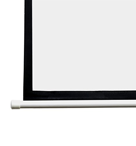 VIVO 100'' Projector Screen, 100 inch Diagonal 16:9 Projection HD Manual Pull Down Home Theater VIVO (PS-M-100) by VIVO (Image #6)