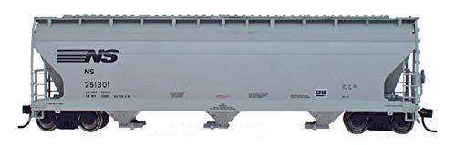 Acf 3 Bay Covered Hopper - 'HO RTR ACF 4650 3-Bay Covered Hopper, NS'