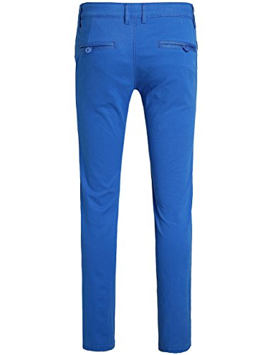 SSLR Men's Hybrid Stretch Casual Slim Fit Pants - stylishcombatboots.com